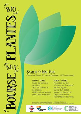 Bourse aux plantes at One Planet Center